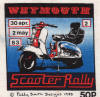 Weymouth Scooter Rally April 30 - May 2 1983