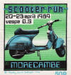 Morecambe Scooter Rally - Easter Bank Holiday 1984