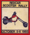 Redcar Scooter Rally October 5-6 1985