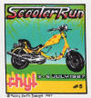 Rhyl Scooter Rally July 3-5 1987