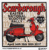 Scarborough National Scooter Rally - Easter 2017